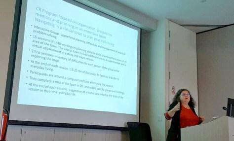 Atelier de remédiation cognitive animé par le Dr Isabelle Amado du C3RP à Singapour