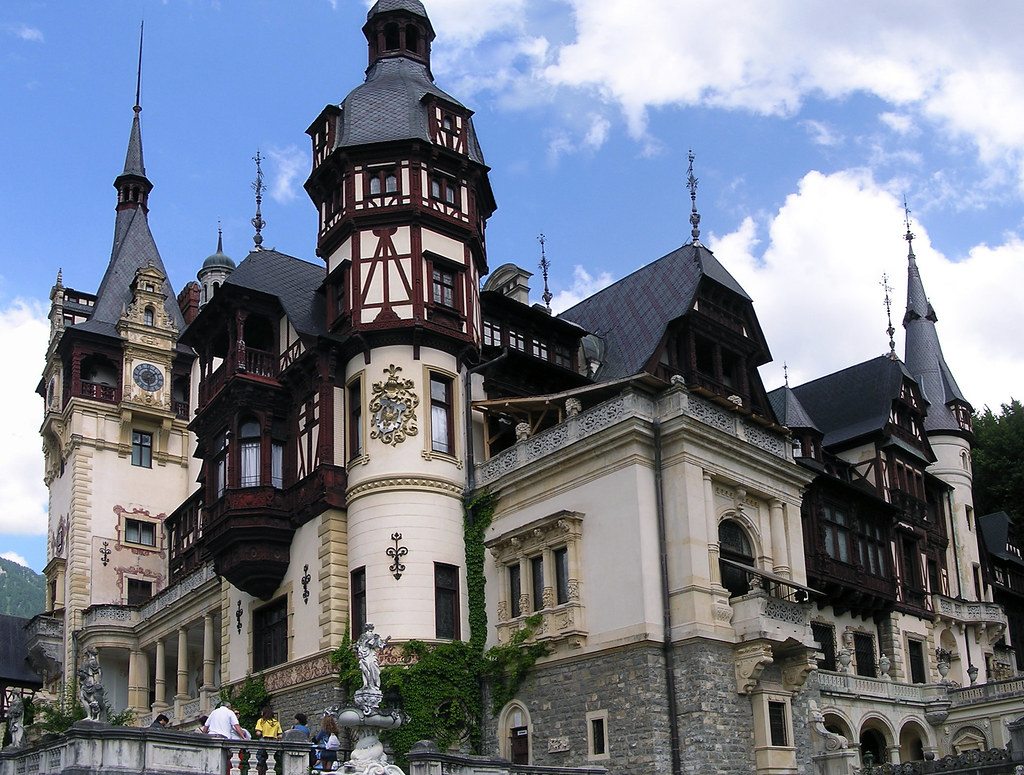 Rumania Castillo de Peles Sinaia 03
