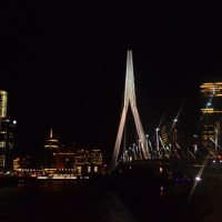 Holland: Rotterdam - High Tea & Rotterdam by night