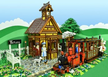 LEGO Sunday Afternoon Tea Train to Tetley