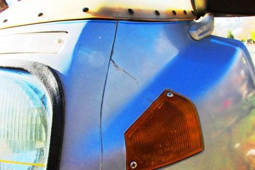 Fairing Panel Damage
