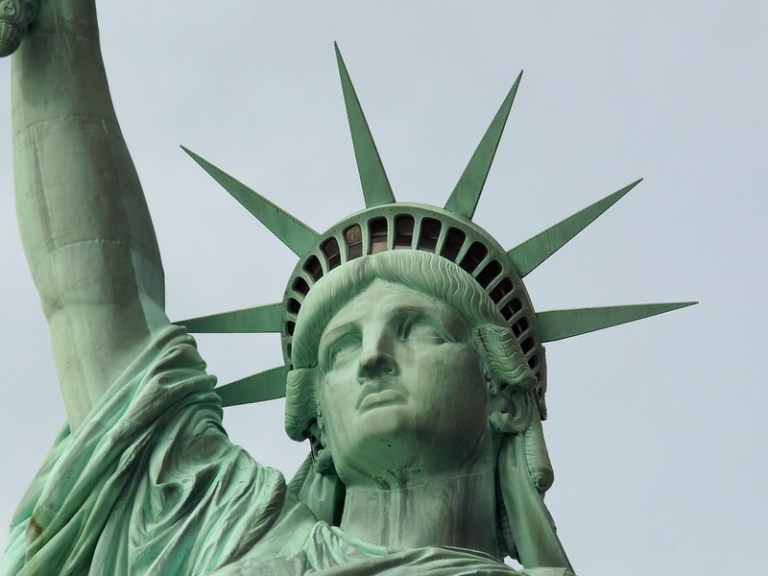 Statue of Liberty, New York - the tea break project solo travel blog