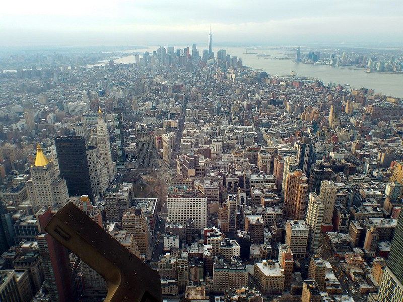 Empire State Building, New York, view from floor 102 - the tea break project solo female travel blog