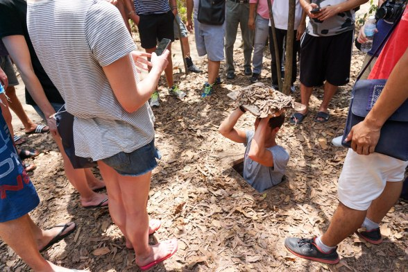 Cu Chi Tunnels Tour with Urban Adventures from Ho Chi Minh City, Vietnam, April 2016
