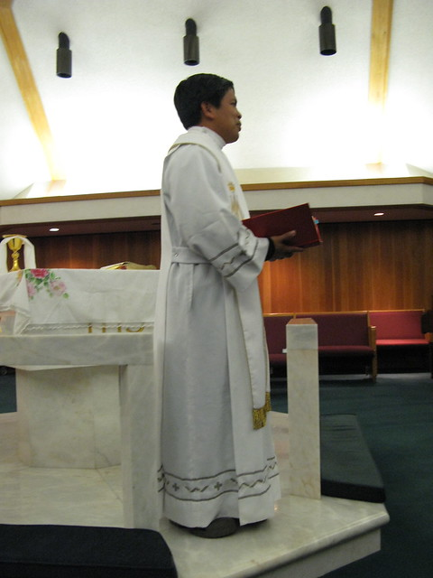 Fr. Fernando Suarez in Houston