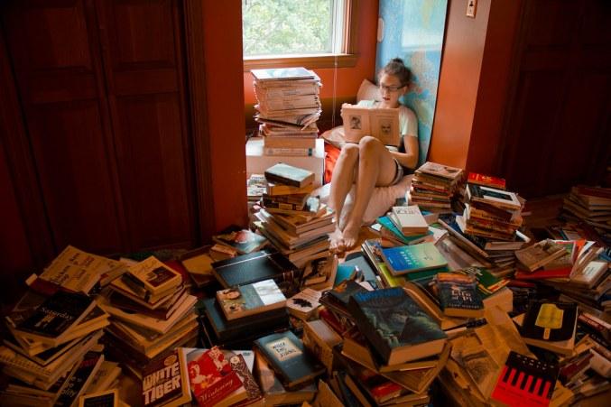 muitos livros, pouco tempo