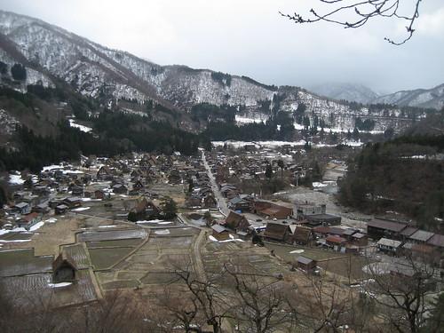 Patrimonio de la Humanidad en Asia y Oceanía. Japón. Poblado histórico de Shirakawa-go.