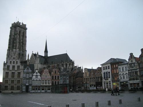 Patrimonio de la Humanidad en Europa y América del Norte. Bélgica. Campanarios de Bélgica.