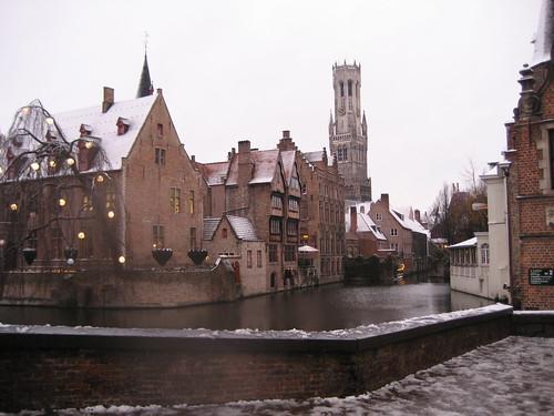 Patrimonio de la Humanidad en Europa y América del Norte. Bélgica. Centro histórico de Brujas.