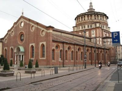 Patrimonio de la Humanidad en Europa y América del Norte. Italia. Iglesia y Convento dominicano de Santa María delle Grazie.