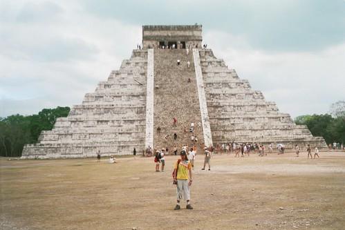Patrimonio de la Humanidad en América Latino y el Caribe. México. Chichen Itzá.
