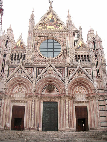 Patrimonio de la Humanidad en Europa y América del Norte. Italia. Centro histórico de Siena.
