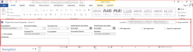 How to Remove Document Information Panel (Office 2013