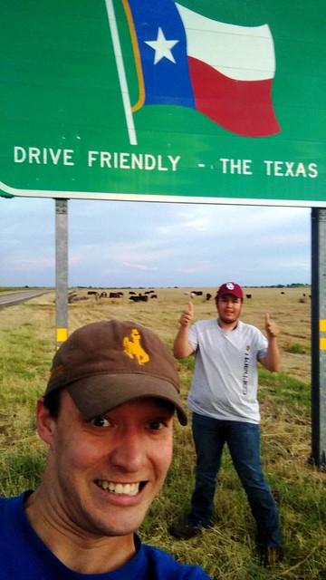 Texas selfie