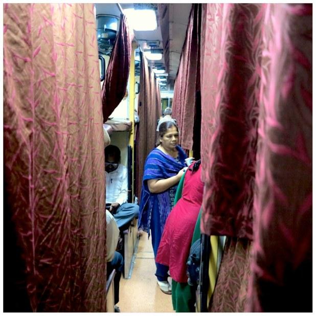 Tren a Varanasi