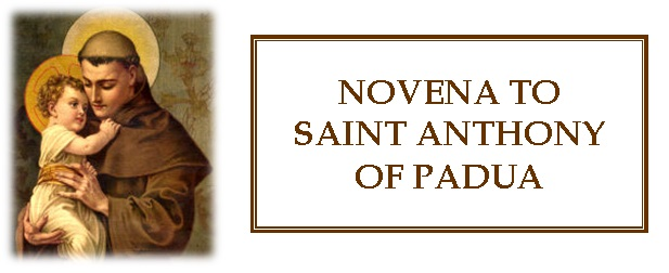 Novena Saint Anthony
