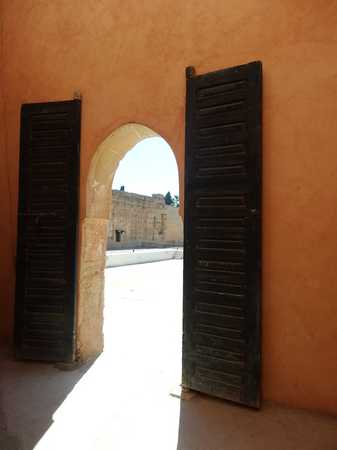 Doorway, Palais el Badi