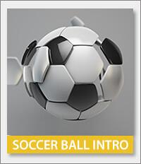 Soccer League, Soccer Ball, Football, Intro, Match, Sport Intro, Soccer, Promo, Reveal