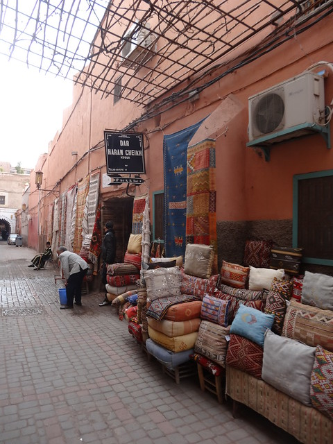 Around the corner from my riad