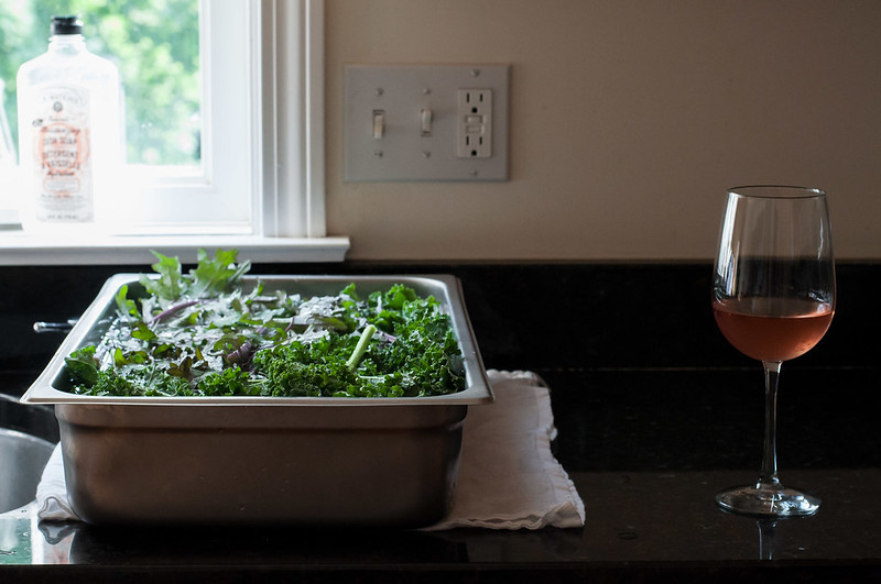 Recipes for kale and other summer produce