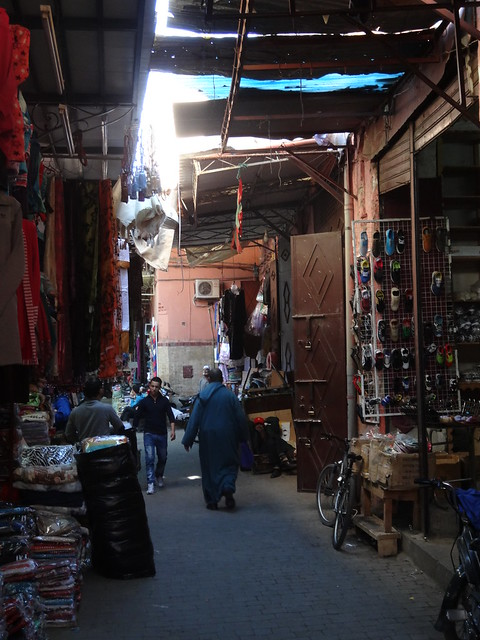 A quiet moment in the souq