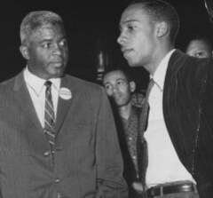 Jackie Robinson with Laurence G. Henry: 1962