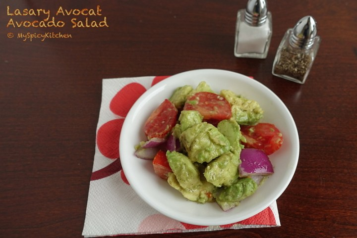 Malagasy Cuisine, Malagasy Food, Avocado Salad, Food of the World