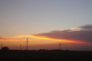 Oklahoma skyline.