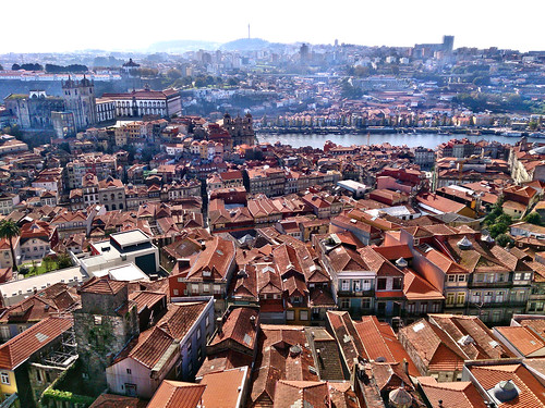 Patrimonio de la Humanidad en Europa y América del Norte. Portugal. Centro histórico de Oporto.