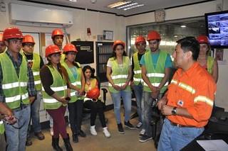 Estudiantes y docentes de Santa María visitaron Minera Alumbrera