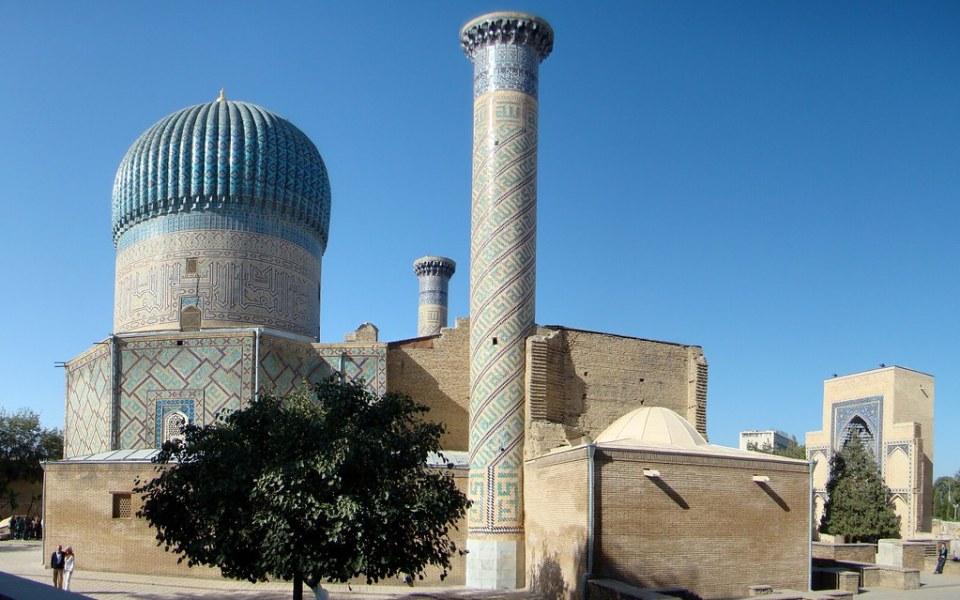 Uzbekistan Mausoleo Gur-e Amir Samarkanda 05
