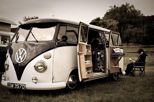Campervan living...