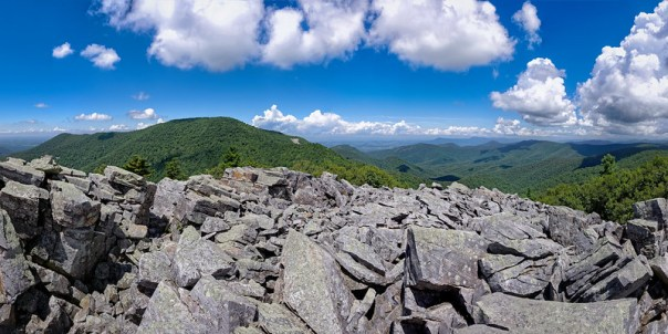 Bearfence Mountain Panorama