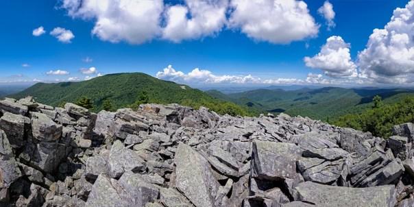 Bearfence Mountain Panorama