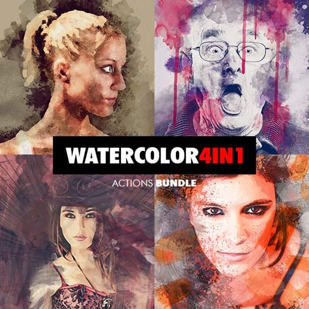 Ink Spray Photoshop Action V.1 - 131
