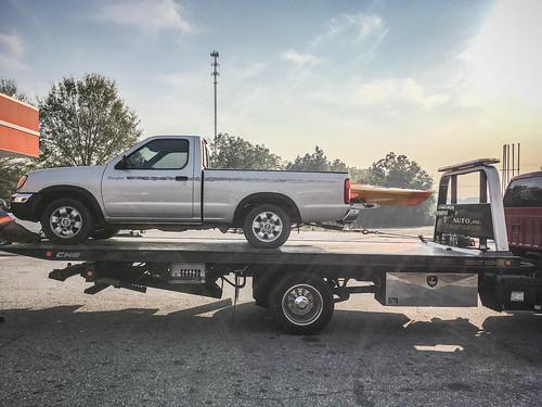 Sick Kayaking Truck