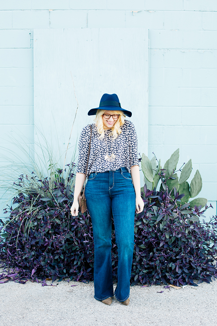 writes like a girl old navy bell bottoms navy brixton hat5
