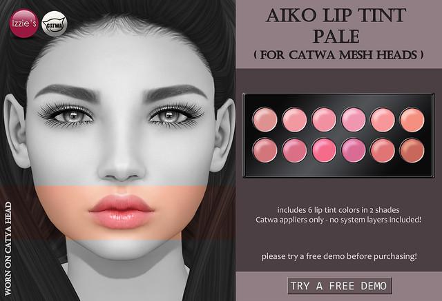 Aiko Lip Tint Pale CATWA (for FLF)