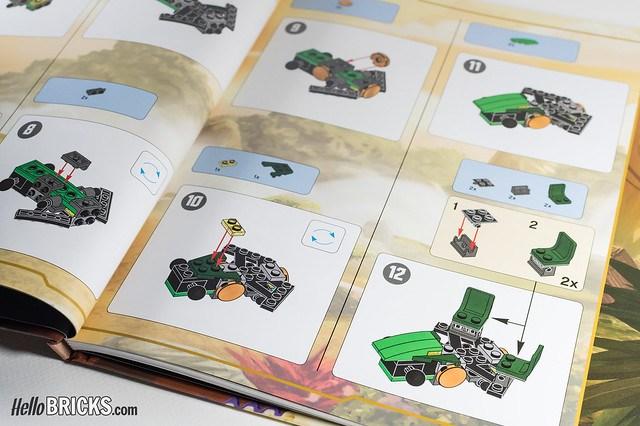 Review Livre LEGO Ninjago DK Build Your Own Adventure 09