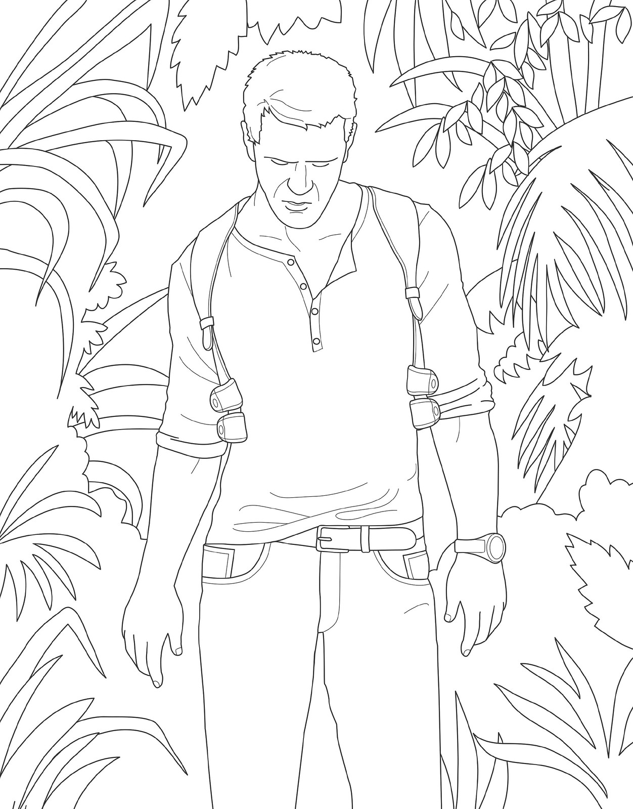 Get Creative With Playstation Colouring Book Art For The