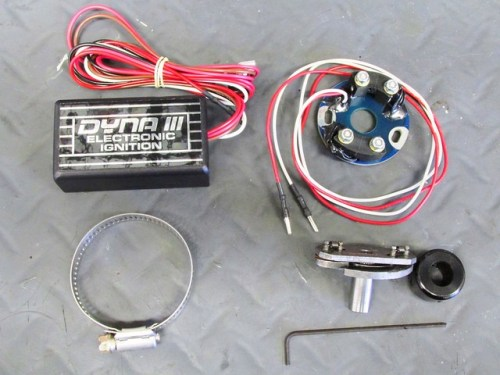 Dyna III Electronic Ignition Components