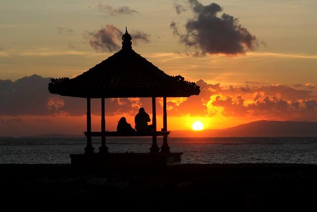 Sunrise at Holiday Inn Resort Bali Benoa