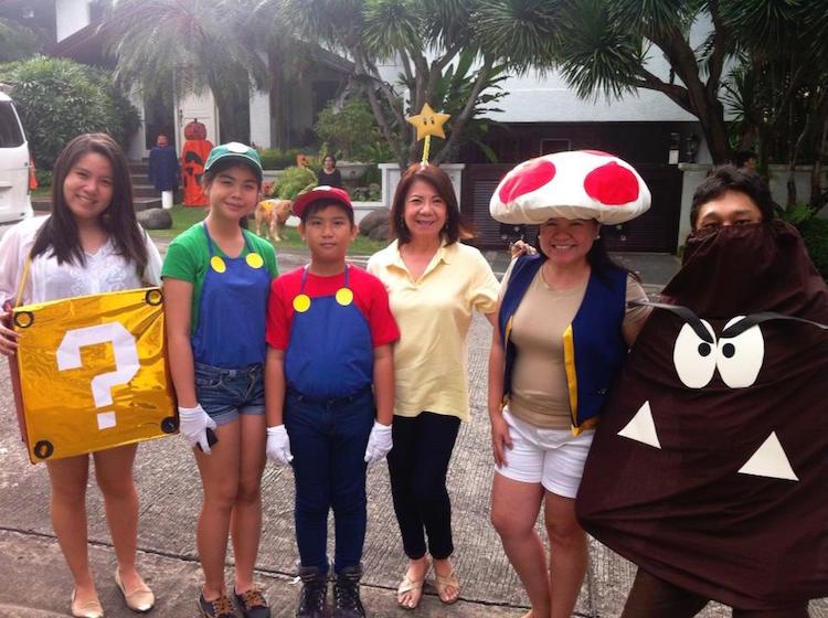 DIY Halloween Costume Mario Brothers