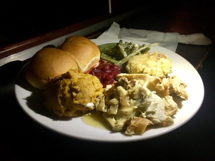 Alamo Drafthouse Thanksgiving Meal