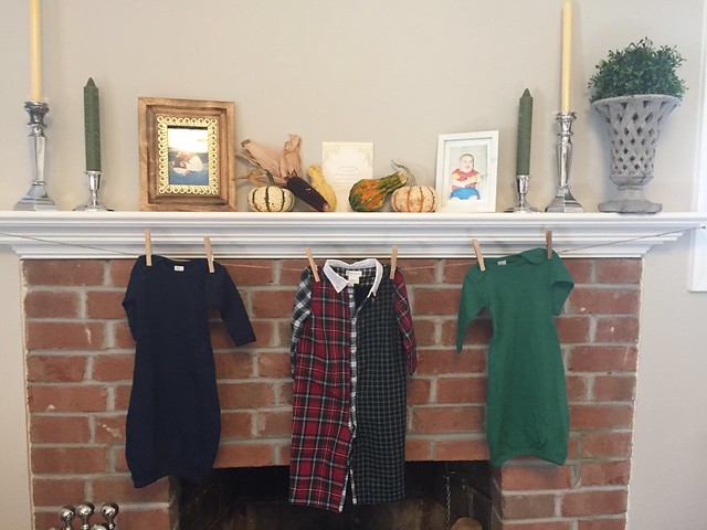 Fall themed baby shower by Calvert Designs Baby photos of mom-to-be & dad-to-be, fall decor, baby boy clothes