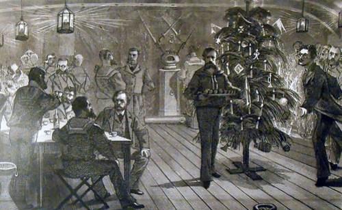 Julafton på Vega