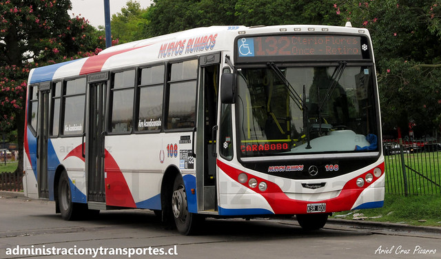 Buenos Aires 132 | Nuevos Rumbos | Metalpar Iguazú - Mercedes Benz / KSR600 (Aire Acondicionado)