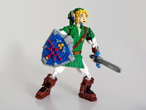 Link hyped for some action
