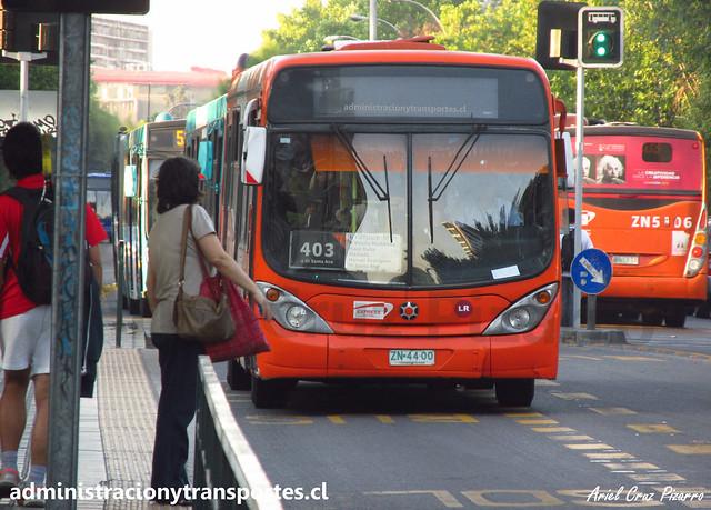 Transantiago 403 | Express | Marcopolo Gran Viale - Volvo / ZN4400