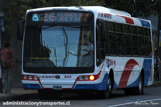 Buenos Aires 26 | 17 de Agosto | Nuovobus - Mercedes Benz / KUQ475
